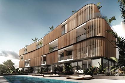 High tech design appartementen op enkele passen van het strand van Talamanca