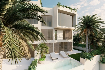 Stunning high end apartments and penthouses with private pools in prime location Talamanca