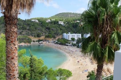Fantastisch townhouse aan het strand van Cala Vadella