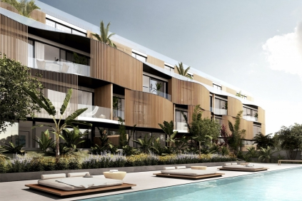 Exclusive pre-release: High tech designer apartments in Talamanca at walking distance to the beach