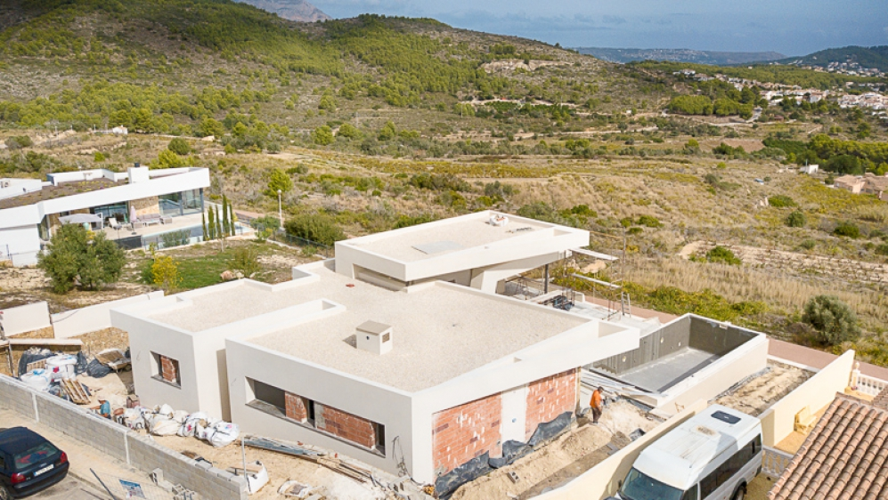 Stunning high quality designer villa with lovely sea views