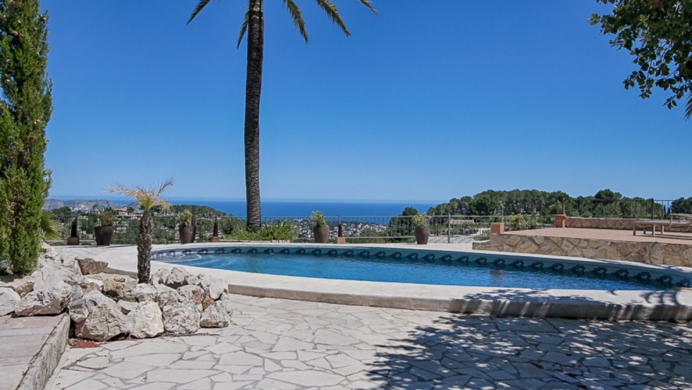 The ultimate sea view finca in an oasis of calm
