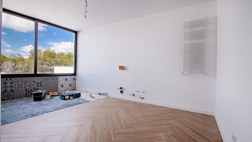 Large fully renovated Ibiza style villa close to La Fustera Beach