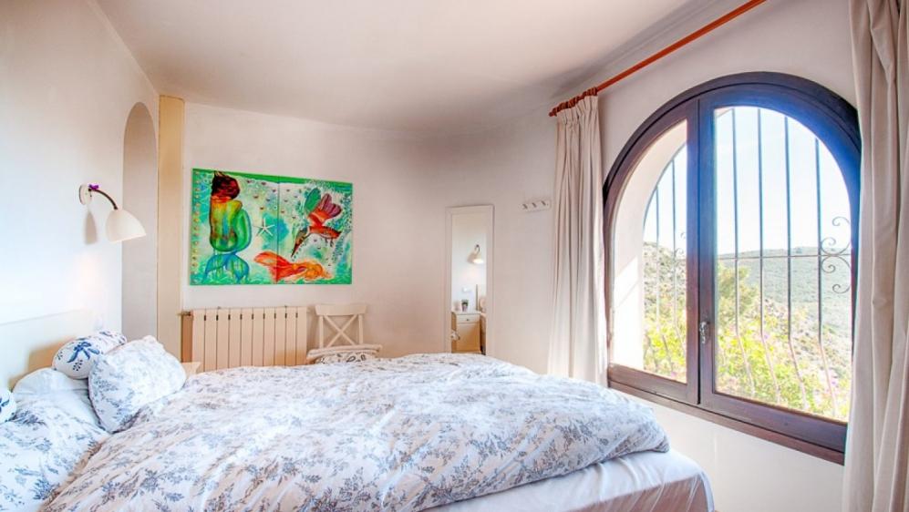 Super charmante Spaanse villa met een absoluut droomuitzicht op zee