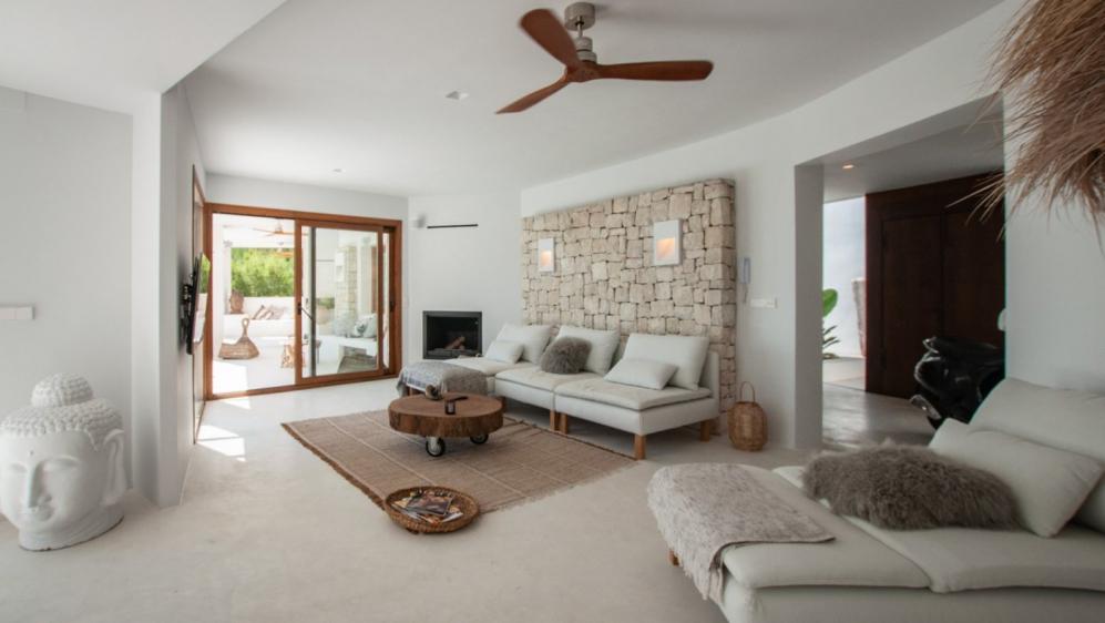 Stunnig Ibiza style villa with amazing sea views for sale close to the beach in Javea
