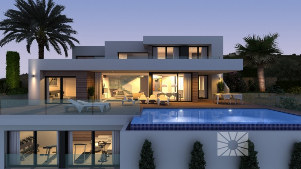 Exceptional contemporary villa with breathtaking sea views!
