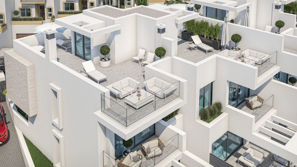 Unique Boutique Development of 6 Houses located second line beach in Estepona