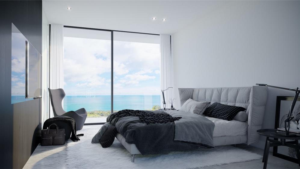 Moderne nieuwbouw villa's op wandelafstand strand en haven