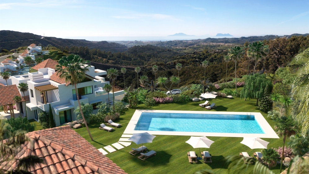 Spectaculair high end apartments close to Marbella with amazing sea views and luxury ameneties