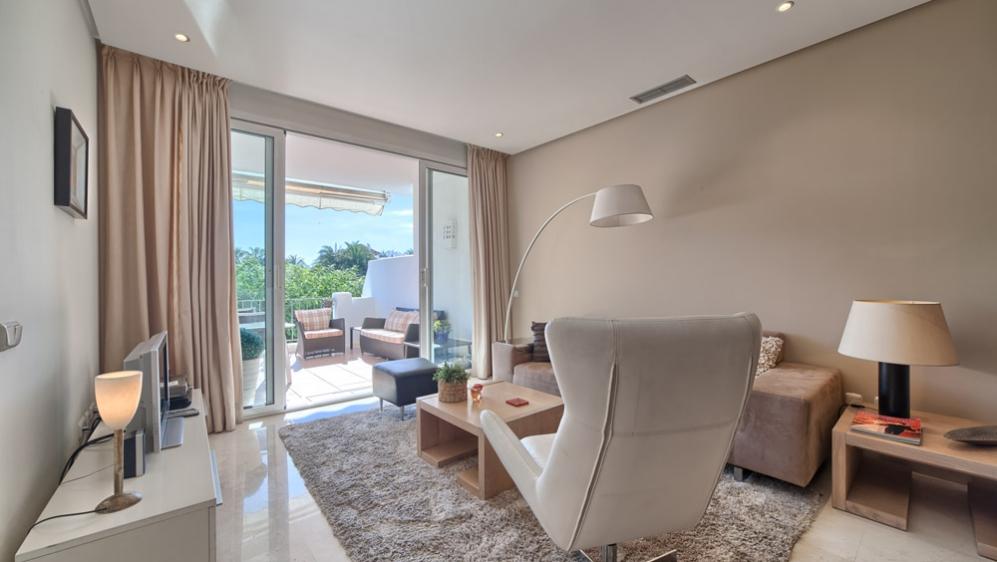 Fantastisch appartement aan het strand