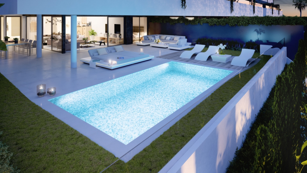 Luxurious apartments with private plunge pools