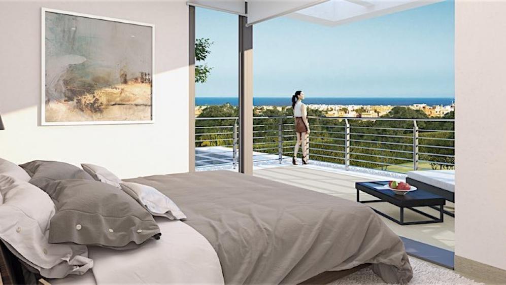 New build contemporary villas close to Marbella