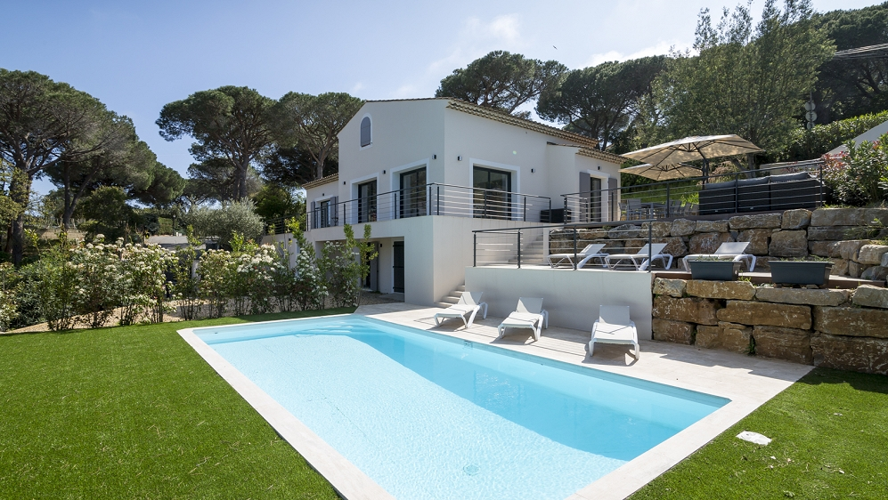 Lovely fully renovated villa close to the center and the beaches of Sainte Maxime
