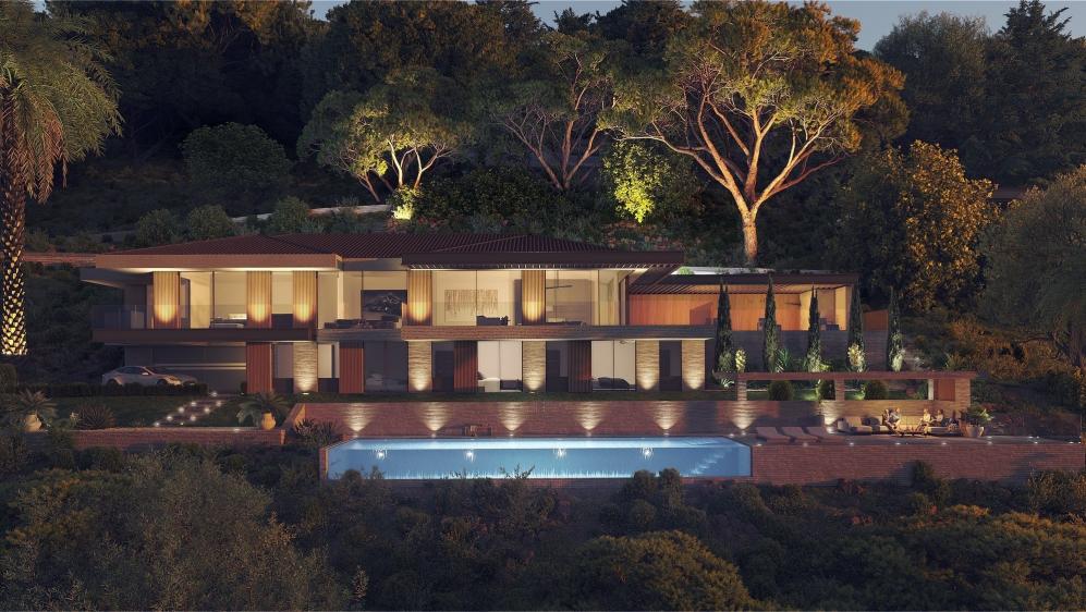Ultra luxe high end design villa's met 5* hotelservices aan de Golf van Saint Tropez