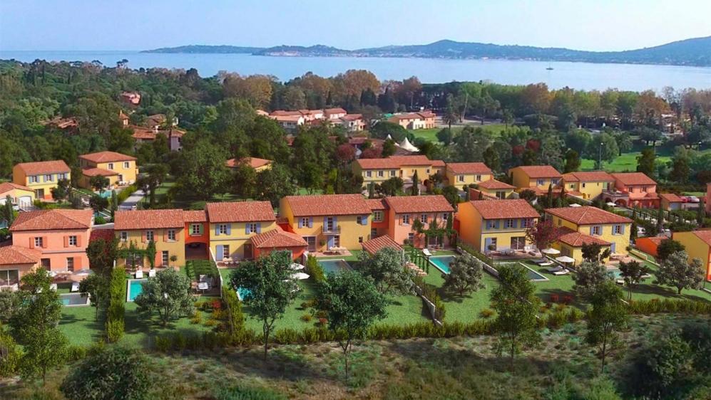 Luxe nieuwbouw villa's en appartementen vlakbij het strand en Port Grimaud