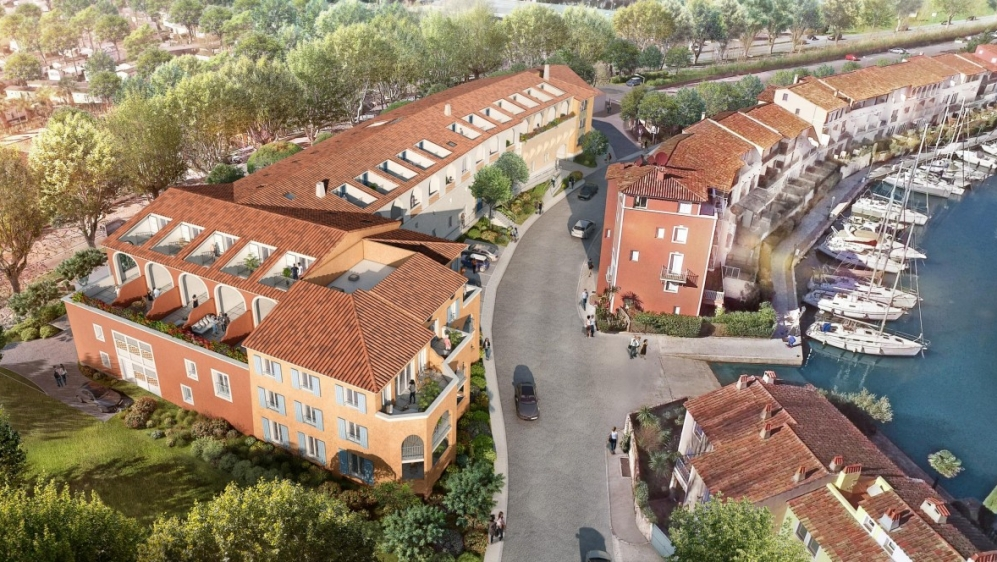 Luxurious new build apartments in Port Grimaud