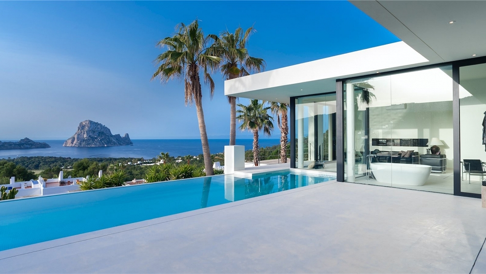 Magnificent designer villa with breathtaking views of Es Vedra