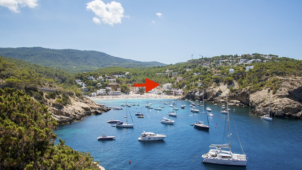 Buitenkans: penthouse met 1 slk en groot dakterras direct aan het strand voor super prijs!