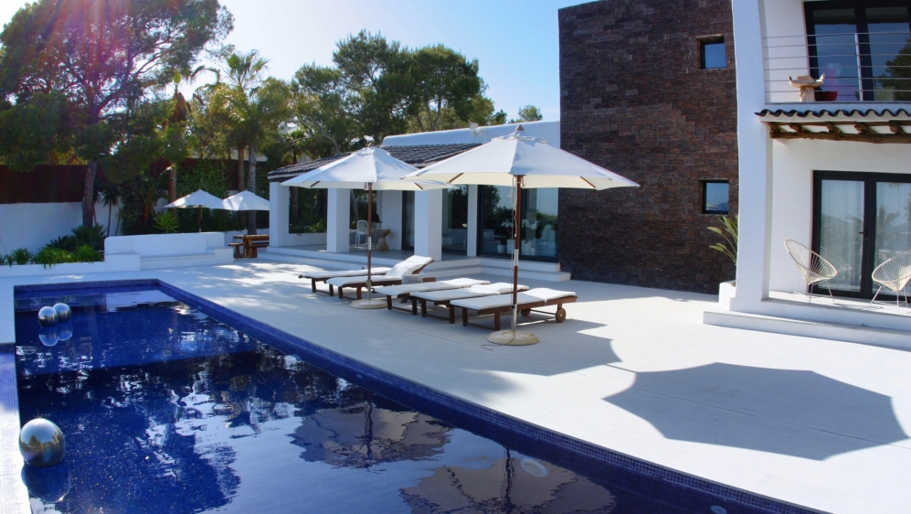 Modern Ibiza villa with spectaculair Es Vedra views!