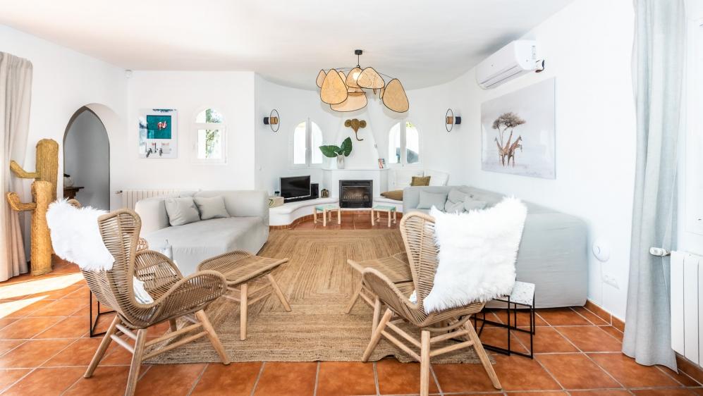 Schitterende Ibiza villa met gastenverblijf en verhuurvergunning