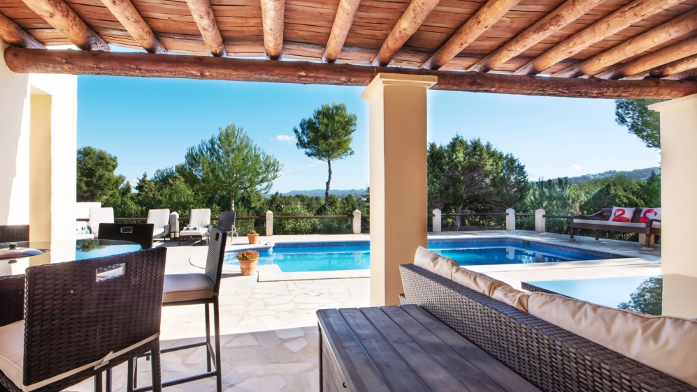 Lovely Ibiza villa in quiet area close to Cala Bassa Beach
