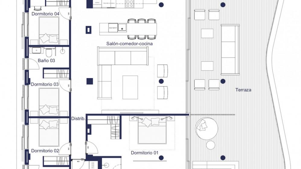 Schitterend designer penthouse met fantastisch zeezicht in luxe 5* residentie bij de jachthaven