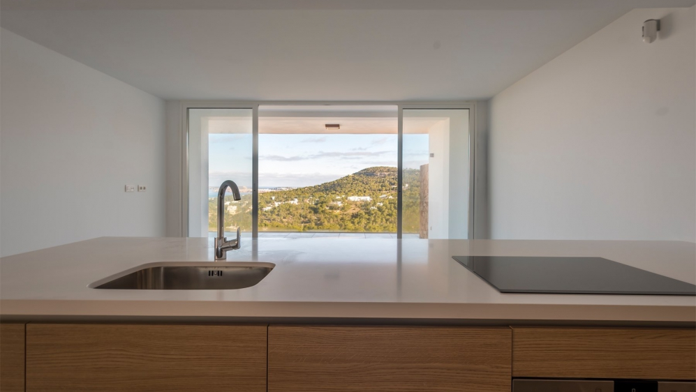 Stunning new designer apartment with spectaculair sea views close to Cala Vadella beach