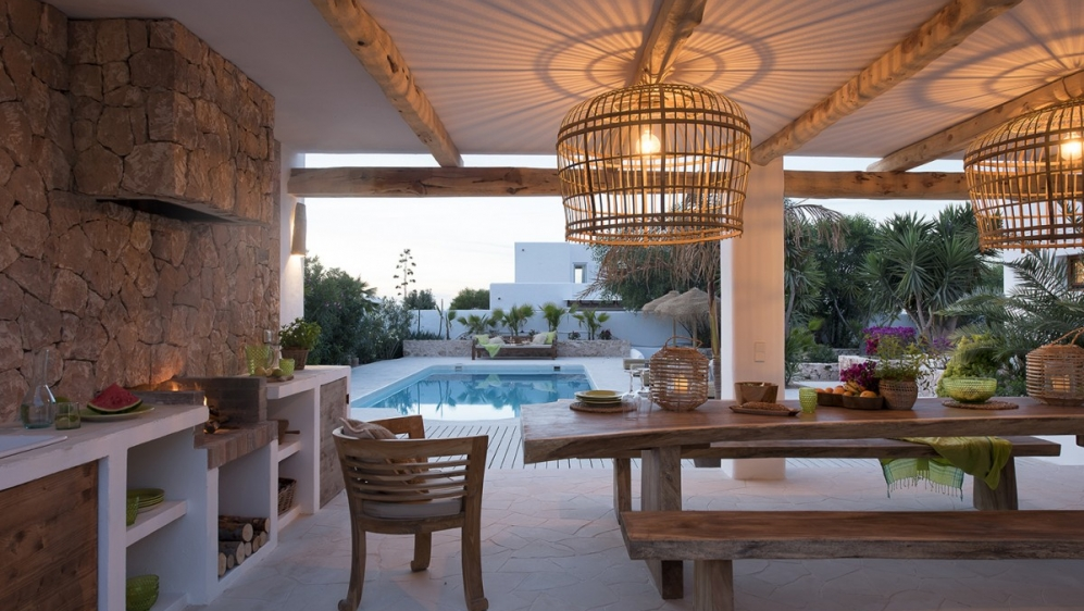 Stunning finca style villa close to the beach Ibiza