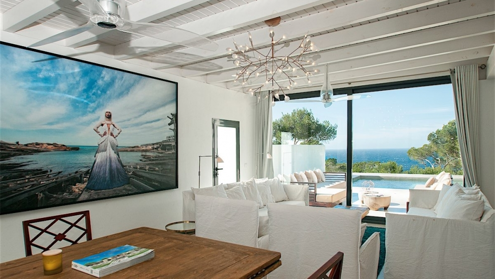 Stunning renovated ibiza finca with amazing sea views