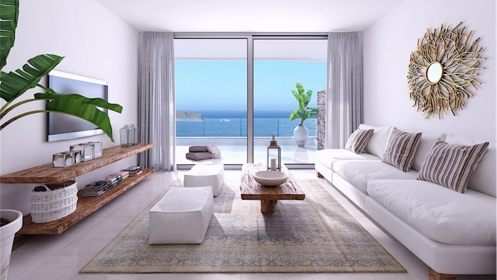 Modern new build apartments with sea view