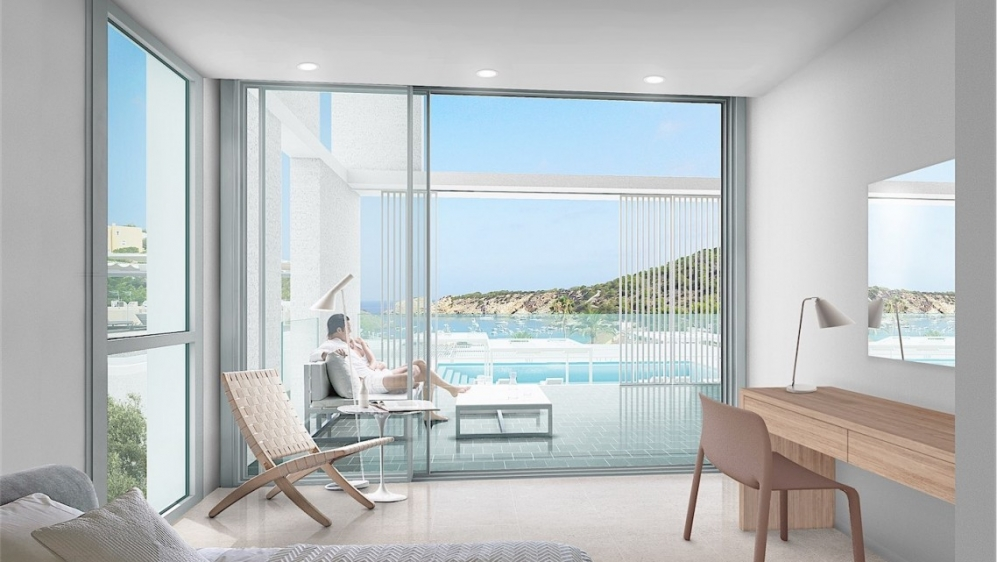 Stunning designer apartements next to the beach