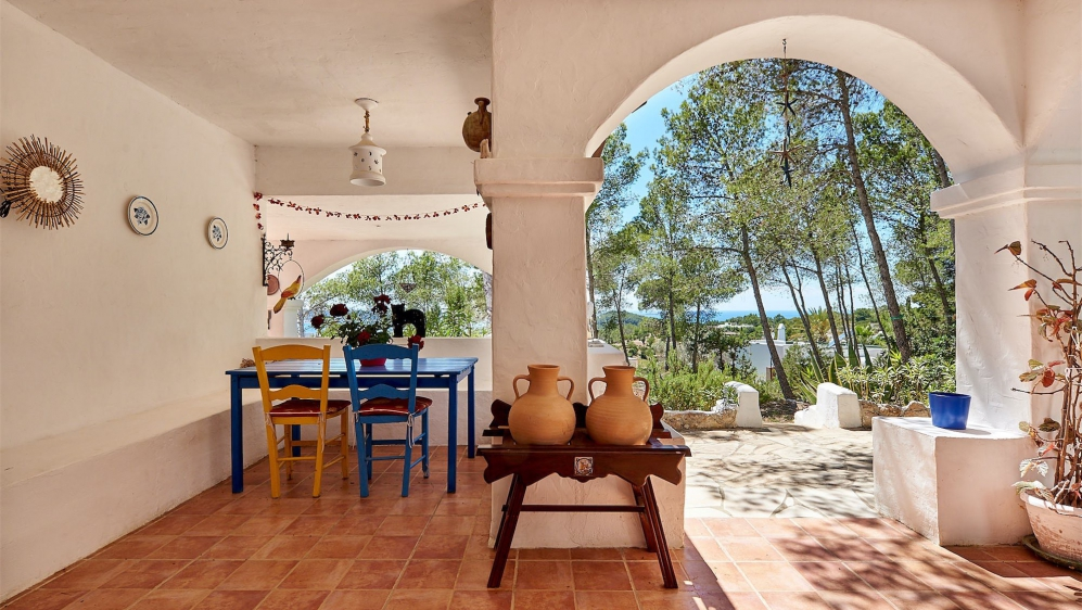 Amazing authentic Ibiza property with stunning sea views and huge potential to add value