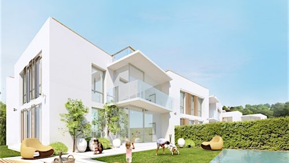 Modern new build apartements close to the beach